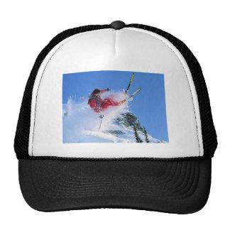 Winter sports, Winter in Romania Mesh Hats