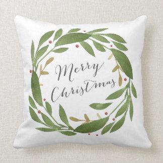 Winter Sprigs Christmas Pillow