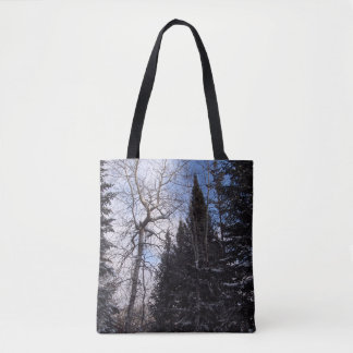 Winter Spruce Camino St Croix Tote Bag