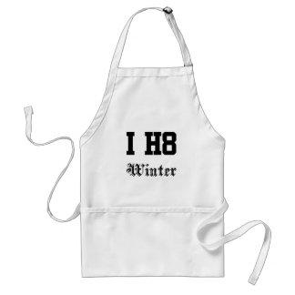 winter standard apron