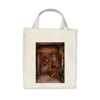 Winter - Store - Dressed for the holidays Tote Bag
