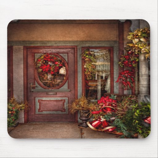 Winter - Store - Dressed for the holidays Mousepads