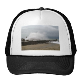 Winter Storm on The Seaside Cap