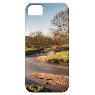 Winter Stroll Along The River Bollin iPhone 5 Case