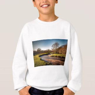 Winter Stroll Along The River Bollin Sweatshirt