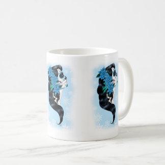 Winter Sugar Skull Coffee Mug