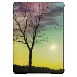 WINTER SUN AND TREE | iPad Air/Mini Cases Cover For iPad Air