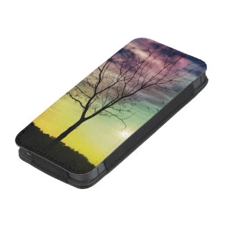 WINTER SUN AND TREE | iPhone Samsung Galaxy Pouch