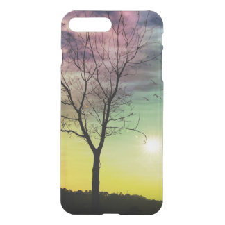 WINTER SUN & TREE | iPhone Clearly Deflector Cases