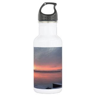 Winter sunrise 532 ml water bottle