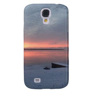 Winter sunrise galaxy s4 cover