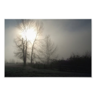 Winter Sunrise in Grand View Photo