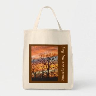Winter Sunset 1 Custom Bag