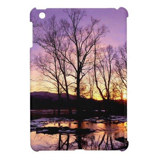 Winter Sunset Case For The iPad Mini
