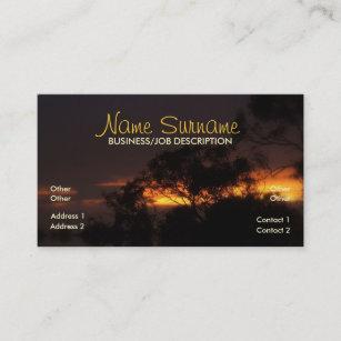 Mood business cards zazzle uk winter sunset mood business card colourmoves