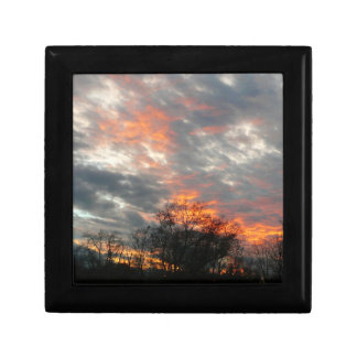 Winter Sunset Nature Landscape Photography Gift Box