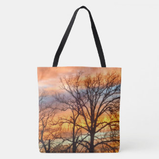 Winter Sunset No. 1 Tote Bag