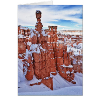 Winter Temples Greeting Card
