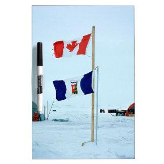 Winter The North Pole Dry Erase Boards
