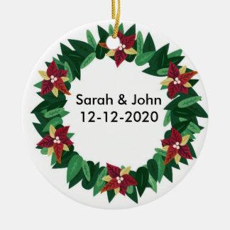 Winter Theme Wedding Ornament