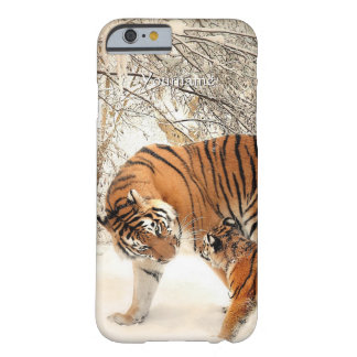 Winter Tigers custom monogram cases