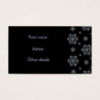 Winter Time Business Card