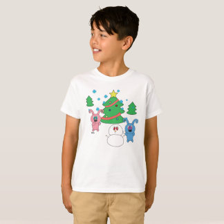 Winter Time Rolly Kids Tagless T-shirt