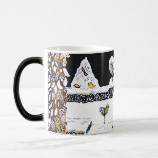 Winter Topiary. Magic Mug