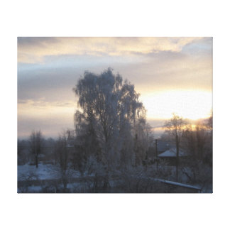 Winter Tranquil Canvas Print