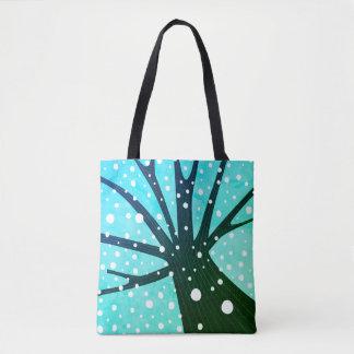 Winter TREE artistic Bag