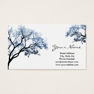 Winter Tree Business Cards