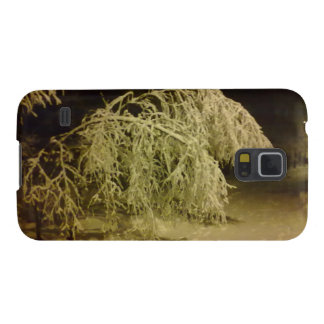Winter tree case for galaxy s5