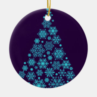 Winter Tree Christmas Ornament