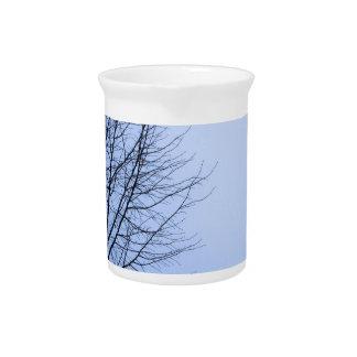 Winter tree pitcher