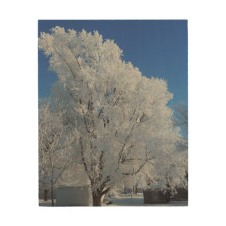 Winter Tree Wood Wall Decor
