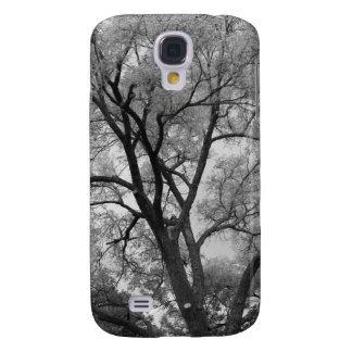 Winter Trees Black & White landscape Photography Samsung Galaxy S4 Cover