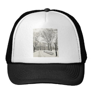 Winter Trees Covered in Snow Trucker Hat