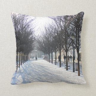 Winter Tree's in Prague (czech republic) Cushion