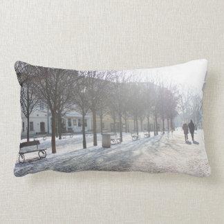 Winter Tree's in Prague (czech republic) Lumbar Cushion