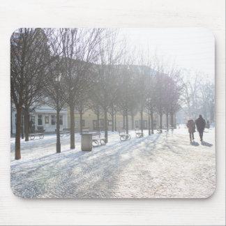 Winter Tree's in Prague (czech republic) Mouse Mat