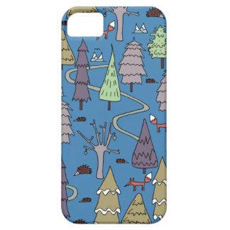winter trees iPhone 5 case