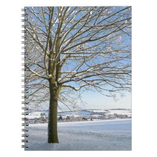 Winter Trees Notebook