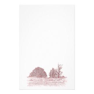 WINTER TREES STATIONERY