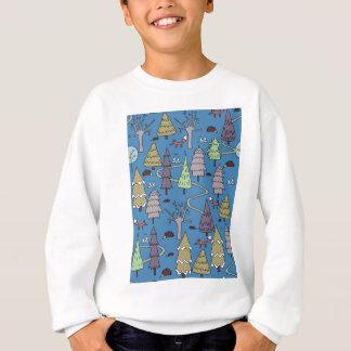 winter trees sweatshirt