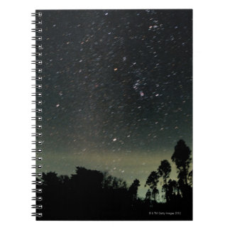 Winter Triangle of Stars Notebook