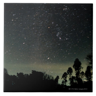 Winter Triangle of Stars Tile