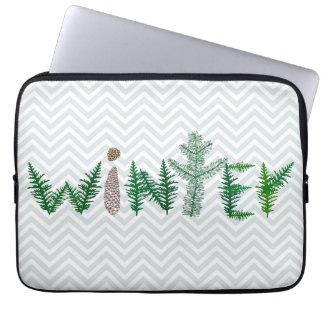 Winter Twigs Laptop Computer Sleeves