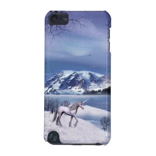 Winter Unicorn iPod Touch Case