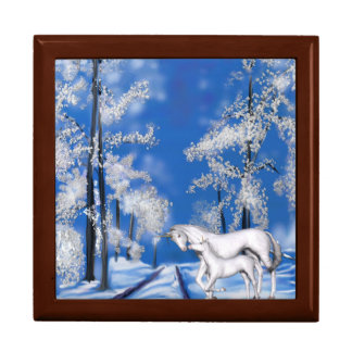 Winter Unicorns Gift Box