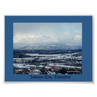Winter View, Johnson City,TN Poster